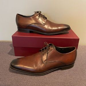 To Boot Brown Lace Up Dress Shoe size 10
